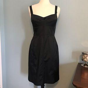 Banana Republic Sleeveless Slip Dress Black Size 8